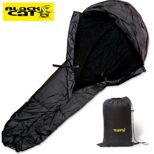 54d170e76955 BLACK CAT Bed Chair Cover 2,10 m 148 cm hálózsák